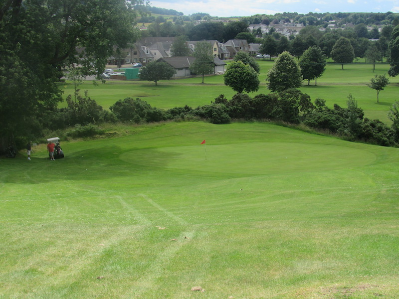 Fairway at the 12th Newton Stewart Golf Club