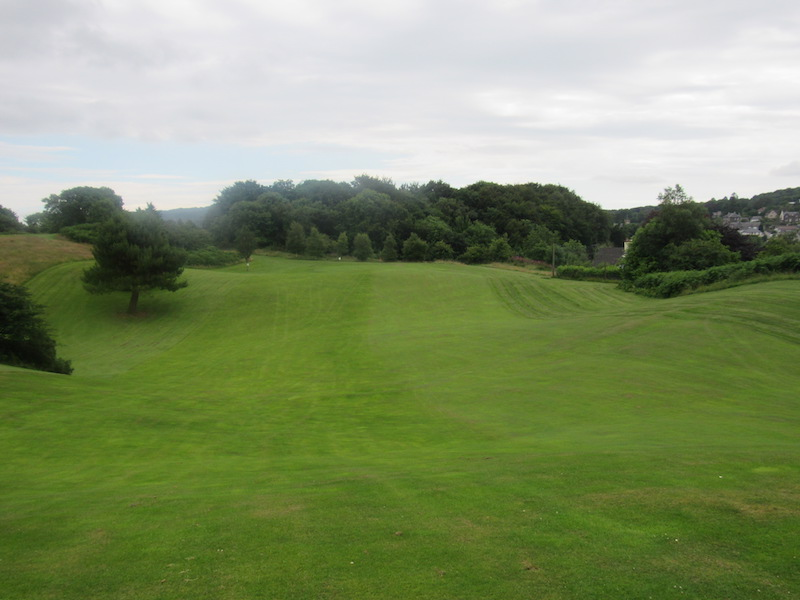 15th fairway at Newton Stewart Golf Club