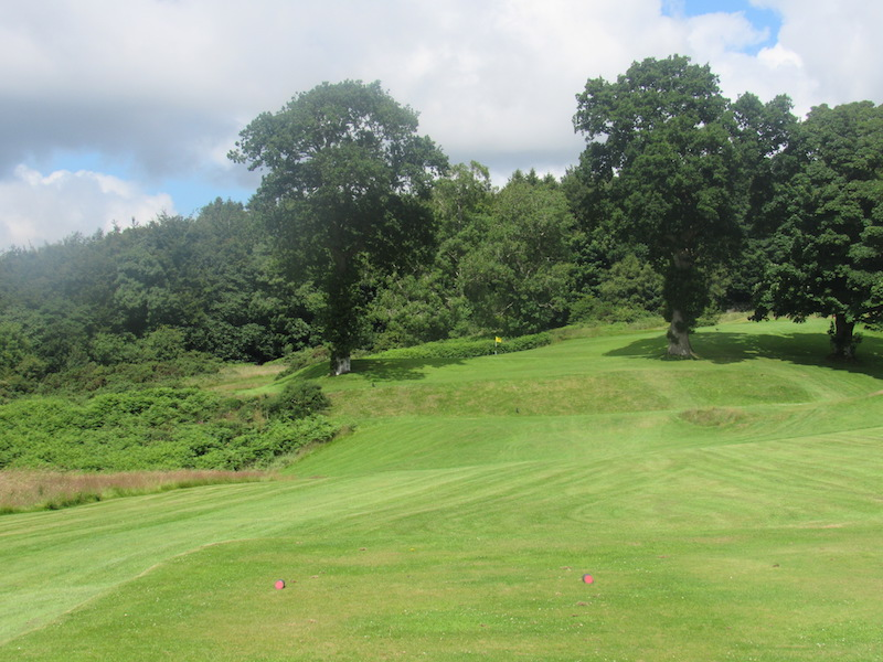 Fairway at the 3rd Newton Stewart Golf Club