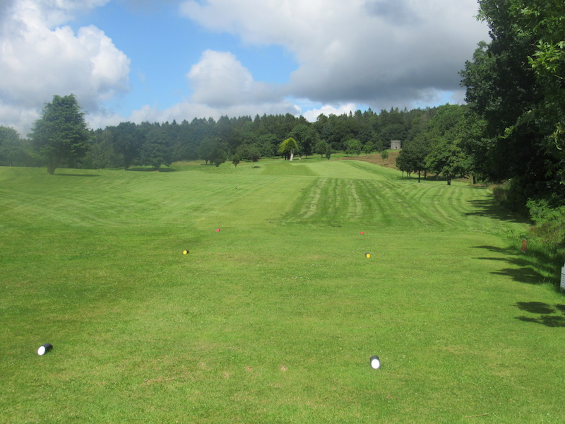 Fairway at the 5th Newton Stewart Golf Club