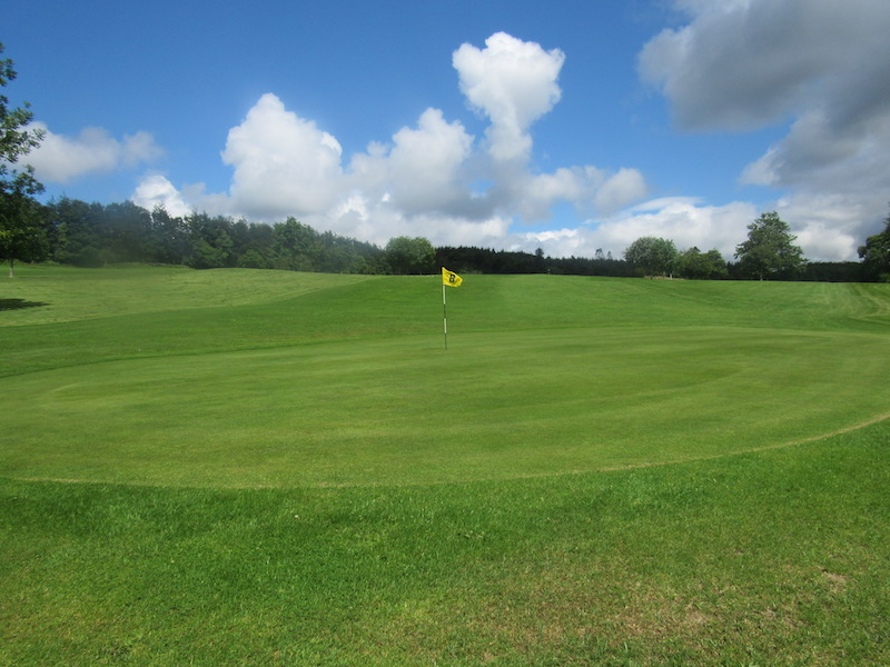 8th hole at Newton Stewart Golf Club