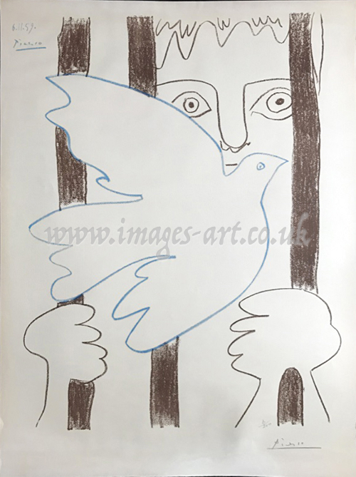 after Pablo Picasso Amnistia