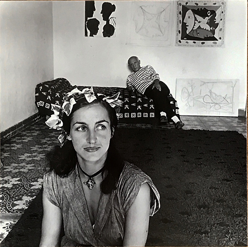 Jacqueline Picasso with Picasso