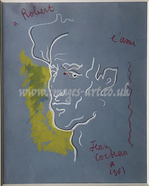 Jean Cocteau Self Portrait