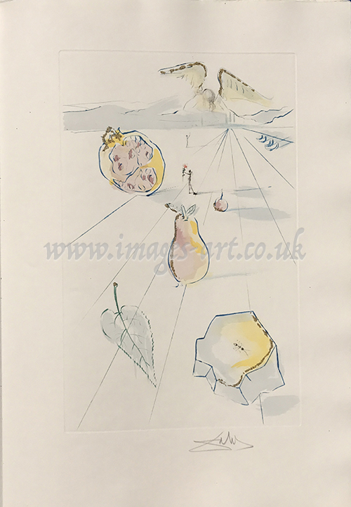Salvador Dali The Fruits of The Valley
