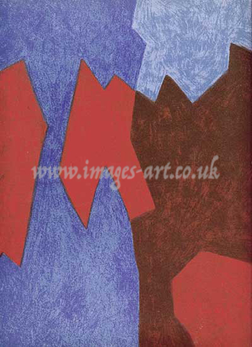 Serge Poliakoff Untitled Abstract