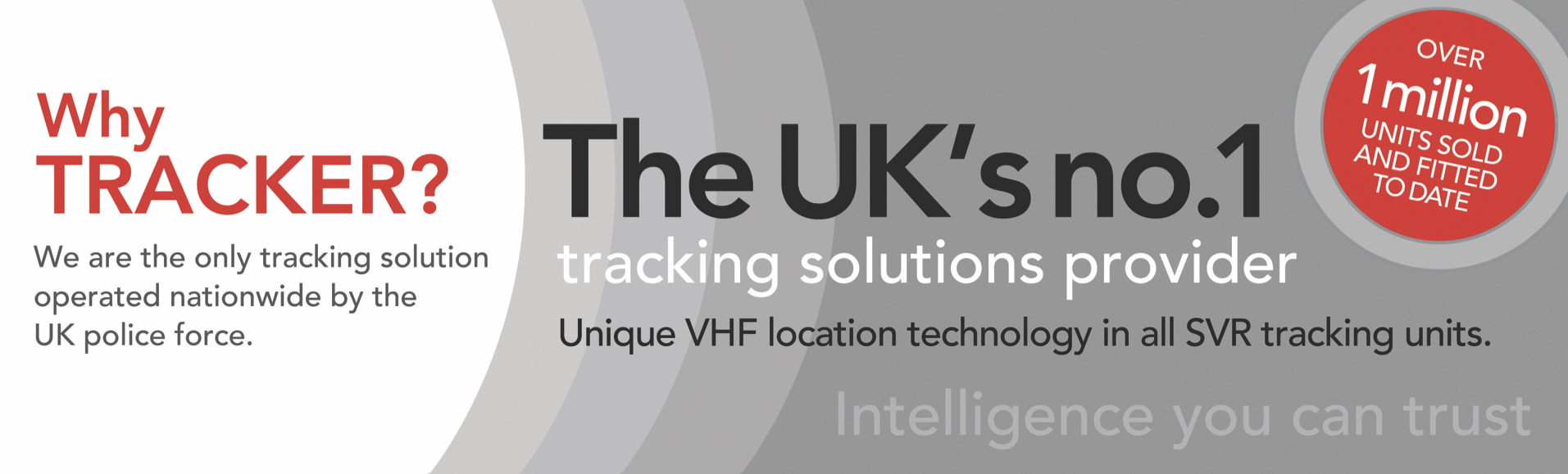 Tracker banner - the UK's no 1 stolen vehicle tracking solutions provider