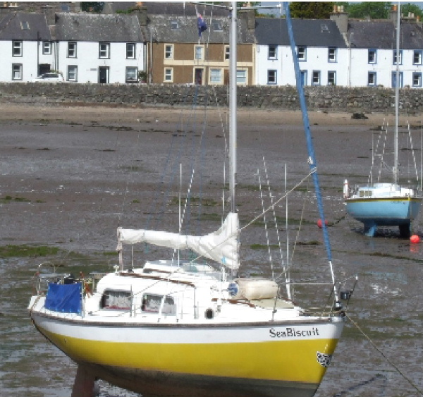 Boats in Garlieston Harbour