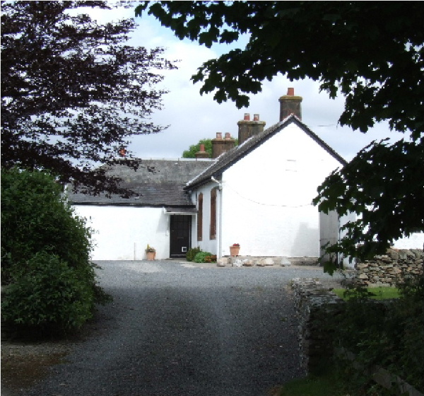 Kilfillan Holiday Cottage external view