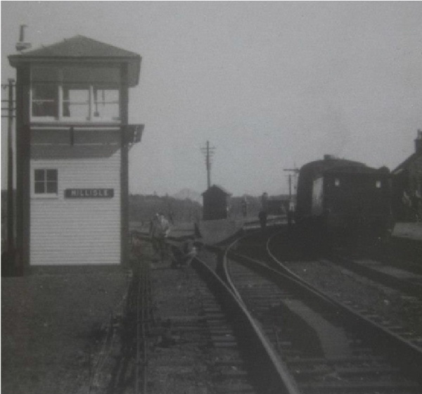 The Signal Box at Millisle