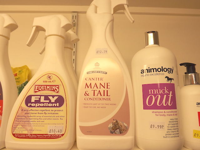Range of products from Equimins, Canter and animology