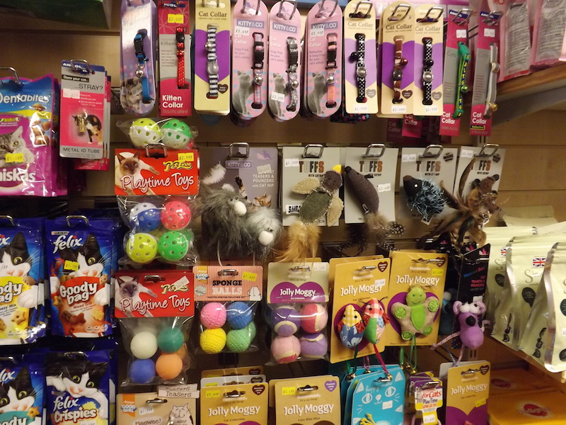 Cat toys including balls and toy mice