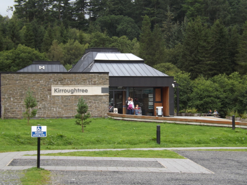 Kirroughtree Visitor Centre, one of the Forestry Commission's visitor centres near Newton Stewart