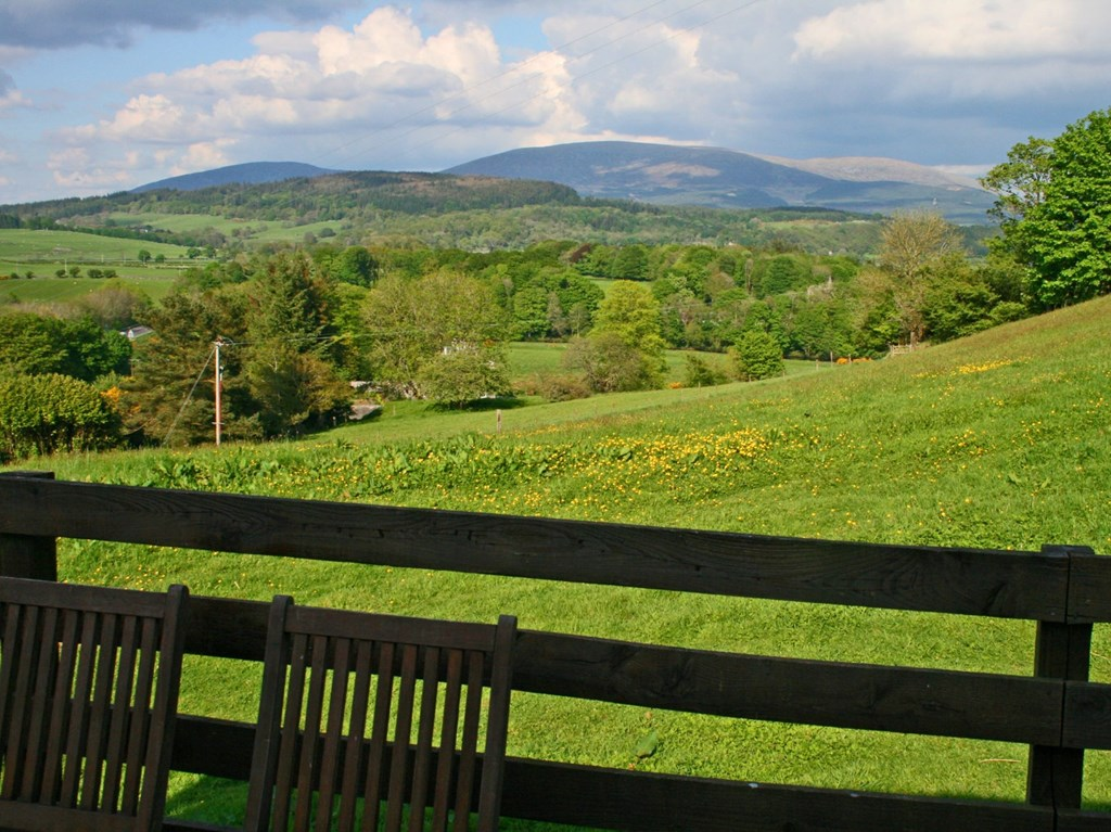 Cairnsmore holiday accommodation is surrounded by the Galloway countryside