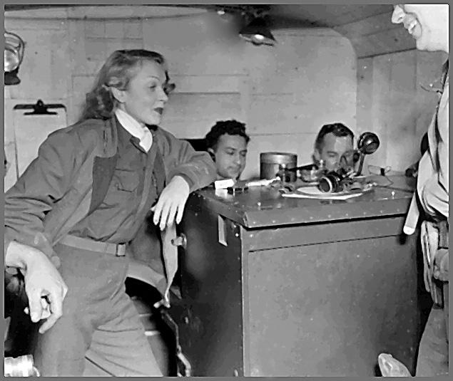 Marlene Dietrich 56th Signal Battalion