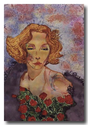 Marlene Dietrich by Carmen Luna