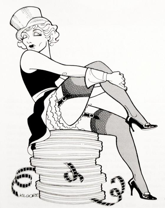 Marlene Dietrich by Al Kilgore