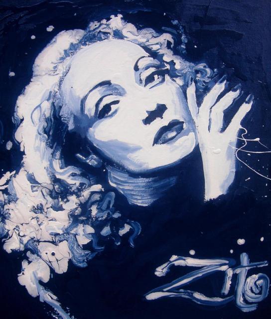 Marlene Dietrich by Antonio Zito