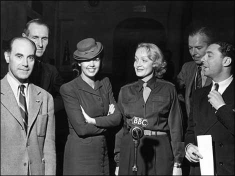 Marlene Dietrich Radio BBC Ottringham