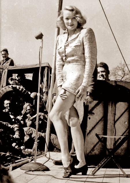 Marlene Dietrich USO Tour