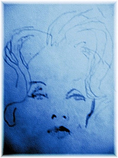 Marlene Dietrich by C. Hall