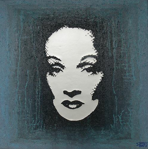 Marlene Dietrich by Christian Warnant (Saireo)