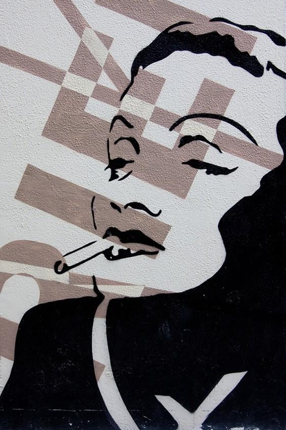 Marlene Dietrich by Cosme Lapena