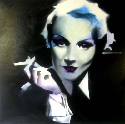 Marlene Dietrich by Joe Hendry