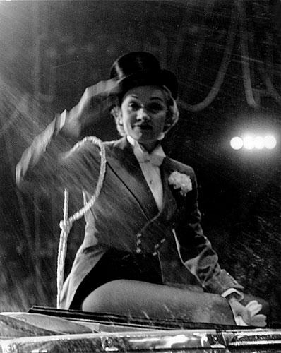 Marlene Dietrich Circus Opening New York