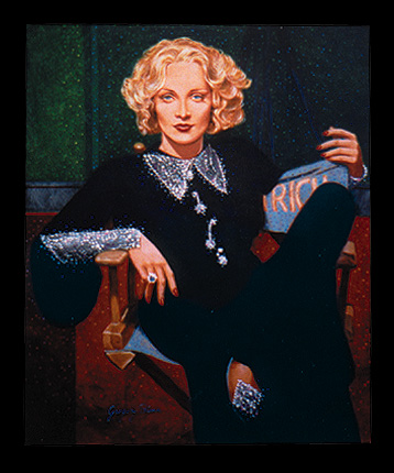 Marlene Dietrich by Gregory Blann