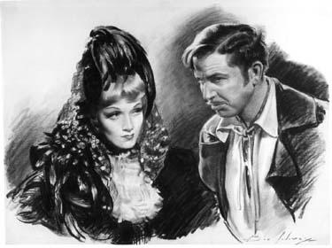 Marlene Dietrich by Ben Solowey