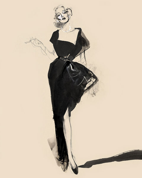 Marlene Dietrich by David Downton
