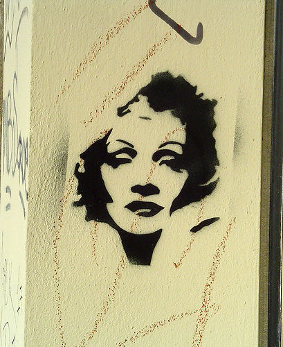 Marlene Dietrich by Ex-Smith