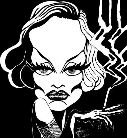 Marlene Dietrich by Fernando Picazo