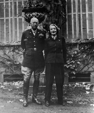 Marlene Dietrich General George Patton