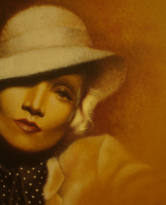 Marlene Dietrich by Troy Brooks