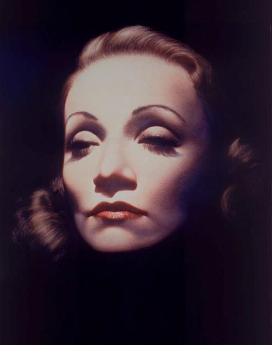 Marlene Dietrich by Gottfried Helnwein