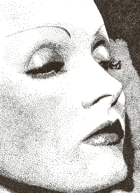 Marlene Dietrich by Heather Kronser