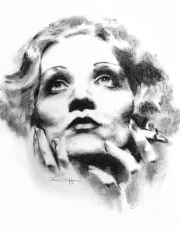 Marlene Dietrich by James Griffin