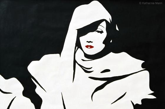 Marlene Dietrich by Katharina Mann