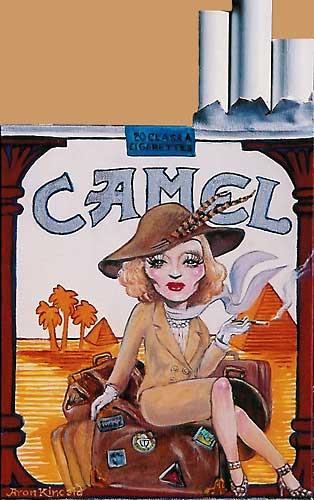 Marlene Dietrich by Aron Kincaid