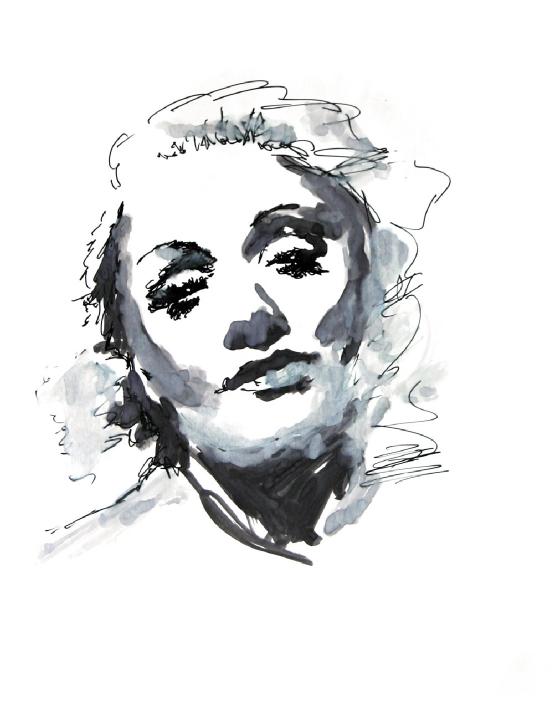 Marlene Dietrich by Klaus Maylaender