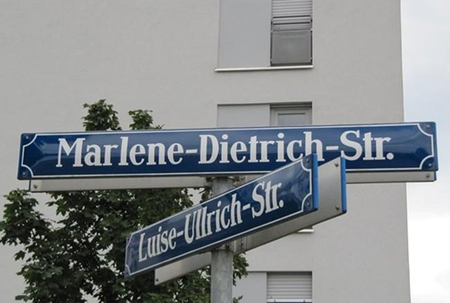 Marlene Dietrich by Peter Krajewski