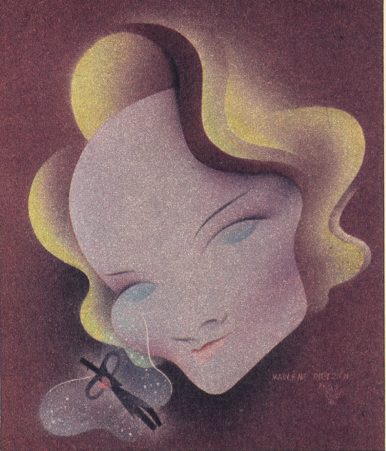 Marlene Dietrich by Paolo Garretto