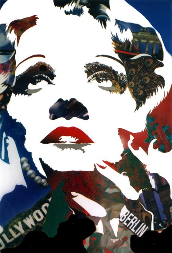 Marlene Dietrich by Beto Coutinho
