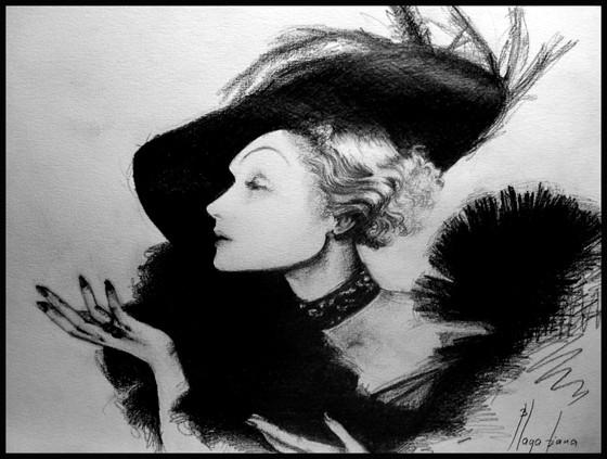 Marlene Dietrich by Diana Blaga