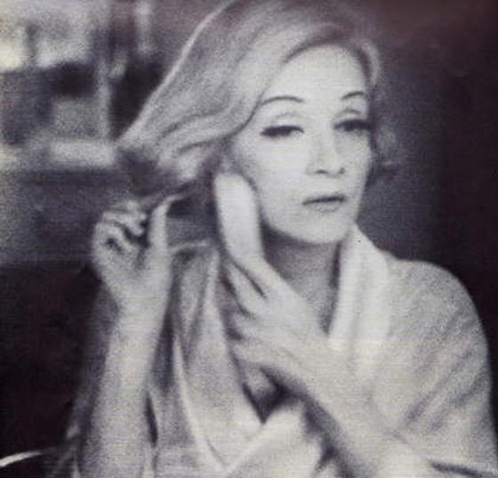 Marlene Dietrich Vogue 1973