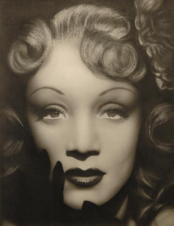 Marlene Dietrich by M.Lamprecht