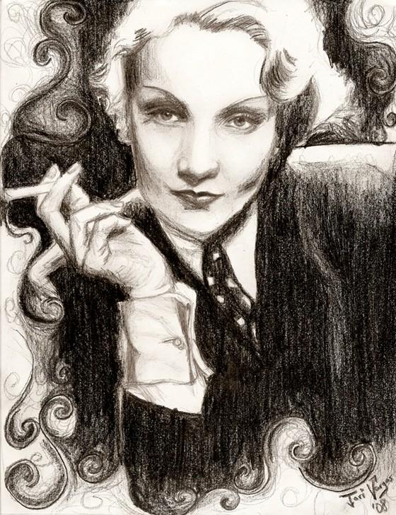 Marlene Dietrich Tori C. Vargas