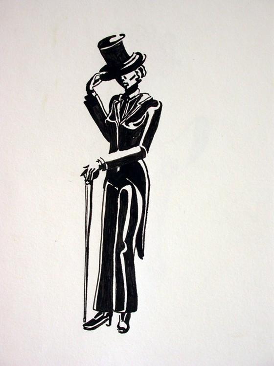 Marlene Dietrich by Tali Shapiro